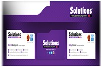 Solutions Business Card Design